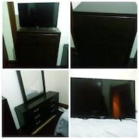 black flat screen TV photo collage Queens, 11692