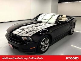 2012 Ford Mustang Red Convertible