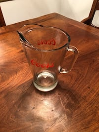 Coors Vintage Glass Pitcher Torrance, 90504