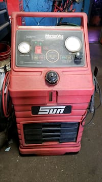 SUN MOTORVAC CARBON CLEANER SYSTEM