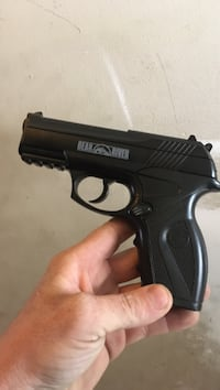Used Black Bear River Semi Automatic Airsoft Pistol For