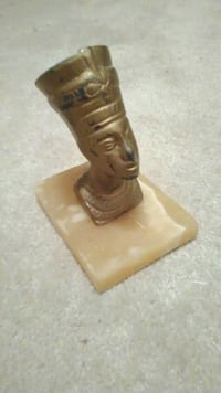 Egyptian Stature on Onyx base