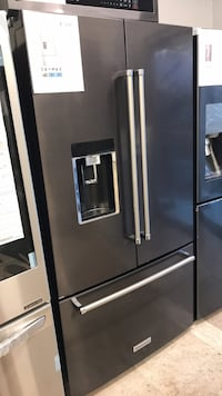 stainless steel french door refrigerator with dispenser West Palm Beach, 33409