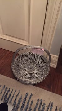 Decorative Basket Silver cosy $24 no holds