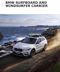 BMW surfboard and windsurfer carrier for roof racks Los Angeles, 90025