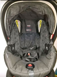 baby's black and gray car seat carrier Alexandria, 22301