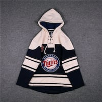 MINNESOTA TWINS BASEBALL CLUB MLB PLAYERS ICE HOCKEY HOODIE PULLOVER   Istanbul, 34010