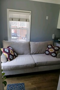 Beautiful Light Tan Couch- Living Spaces Long Beach, 90804