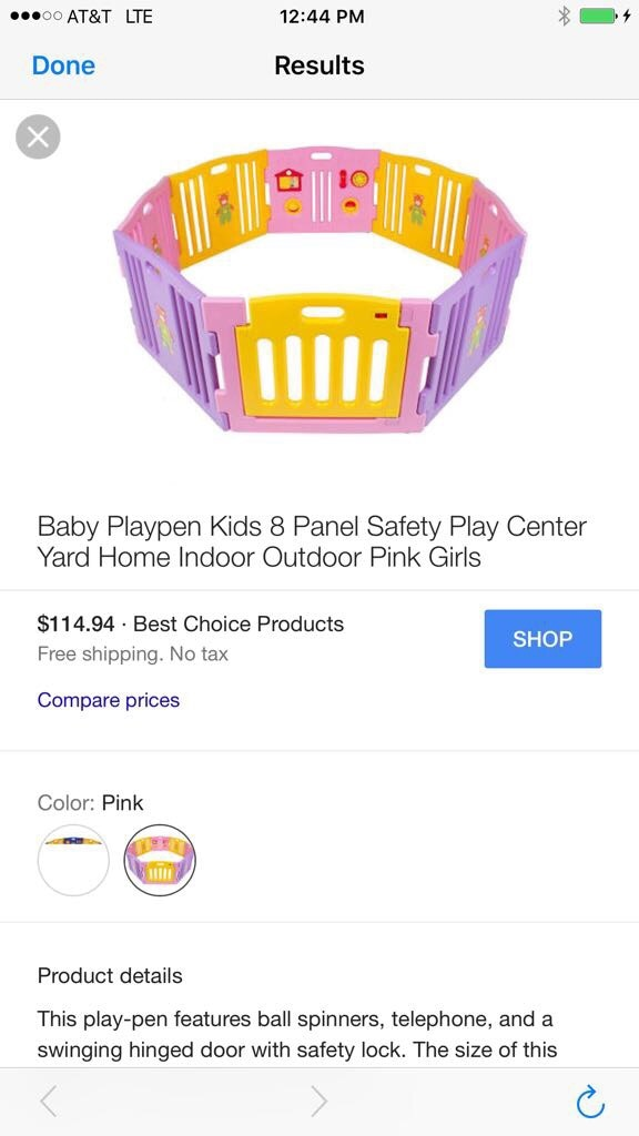 Honda Orland Park >> letgo - Baby Playpen Kids Safety Play... in Orland Park, IL