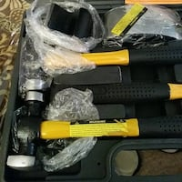 black and yellow hammer set in case Fairfax, 22030
