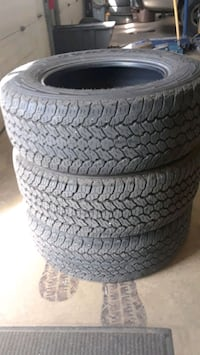 255/65R17 Goodyear kevlar all terrain tires Hagerstown, 21742
