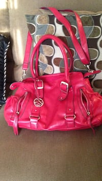 Red leather 2-way tote bag Ocala, 34473