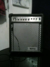 black and gray guitar amplifier Winnipeg, R2W 2G2
