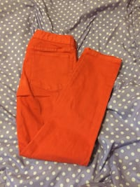 Orange jeans . Size 27. Light used and in good condition . San Jose, 95122