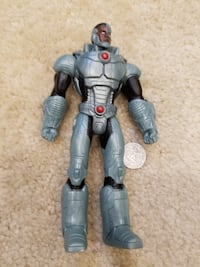 "DC Comics Justice League Cyborg 7"" Action Figure   Springfield"
