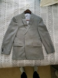Gray Tommy Hilfiger notch lapel suit jacket Alexandria, 22304