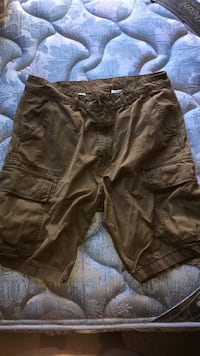brown and black cargo shorts Oswego, 60543