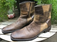 Skechers collection leather boots size 12 Sacramento, 95822