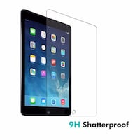 iPad  Air Air2 iPad 6  tempered glass screen protector Richmond