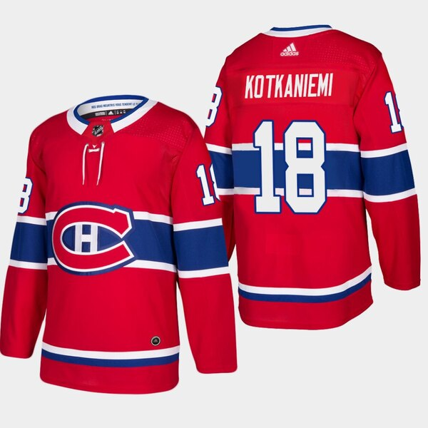 finest selection 5a1d1 92c71 Montreal Canadiens #18 Kotkaniemi Jersey / Chandail