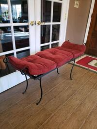 Decorative accent bench