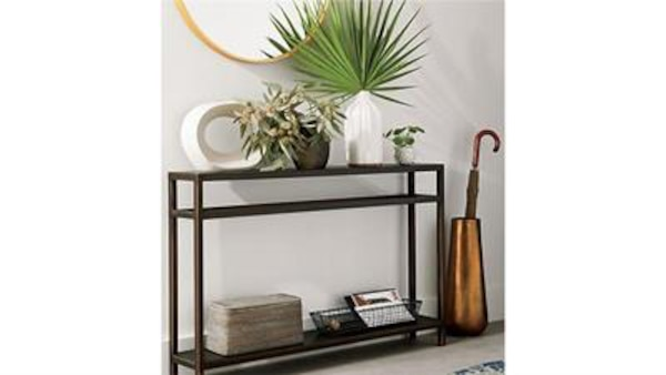 new style 1297a 870b7 Crate and Barrel Echelon Console Table