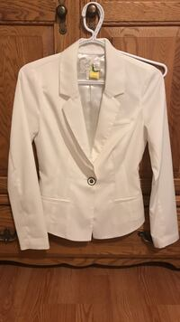 White and black button-up jacket Windsor, N8N
