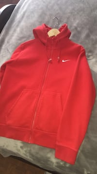 Nike Zip Up (red)