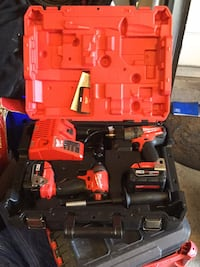 New milwaukee cordless power drill set 5.0 battery fuel / one key Gaithersburg, 20877