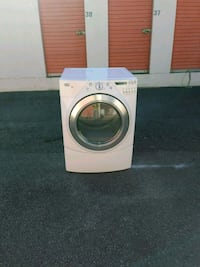 white front-load clothes washer Atlanta, 30363
