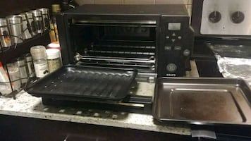Krups 1600 Watts Toaster Oven With Convection Cook