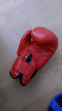 Pair of box gloves