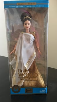Dolls of the world princess of ancient greece barbie doll pack Waldorf, 20603