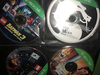 Xbox games Negotiable Fairfax, 22032