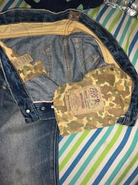 blue and brown camouflage cargo shorts New York, 10466