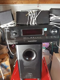 Sony Surround sound receiver with pioneer speakers