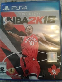 NBA 2k18 ps4 great condition
