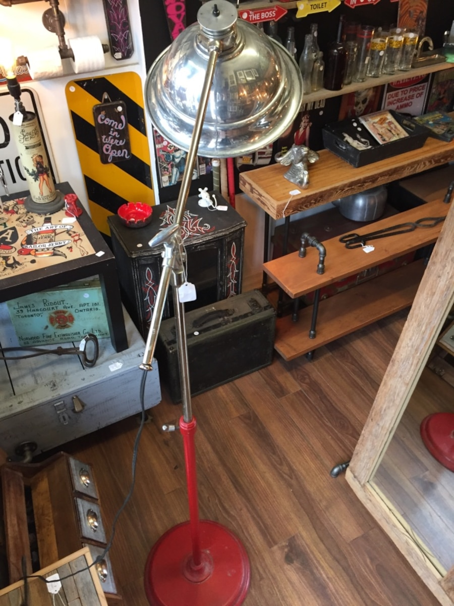Man Cave Barber Toronto : Used industrial standing light in toronto