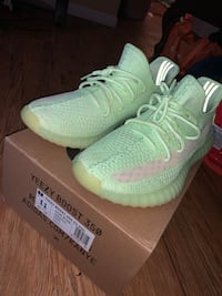 Yeezy glows size 11 trade for iPhone 8+ or xr