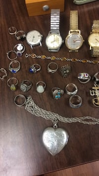 assorted silver-colored rings Roanoke, 24012