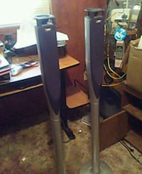 black and gray metal stand Farmerville, 71241