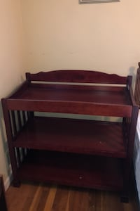 Cherrywood changing table