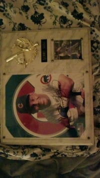 Signed sammy sosa plaque w rookie card   Coconut Creek, 33073