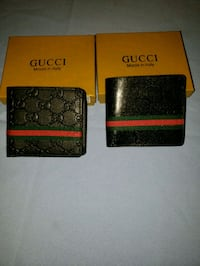 b1b34cad2dd2 Used black and red Gucci leather bifold wallet for sale in San ...