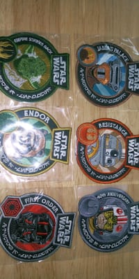 Star wars patches and stainless steel pins Clackamas, 97015