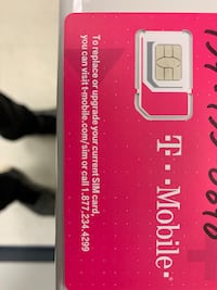 One month of T-Mobile service Chesapeake, 23320
