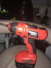 red and black cordless hand drill Surrey, V3V 3P1