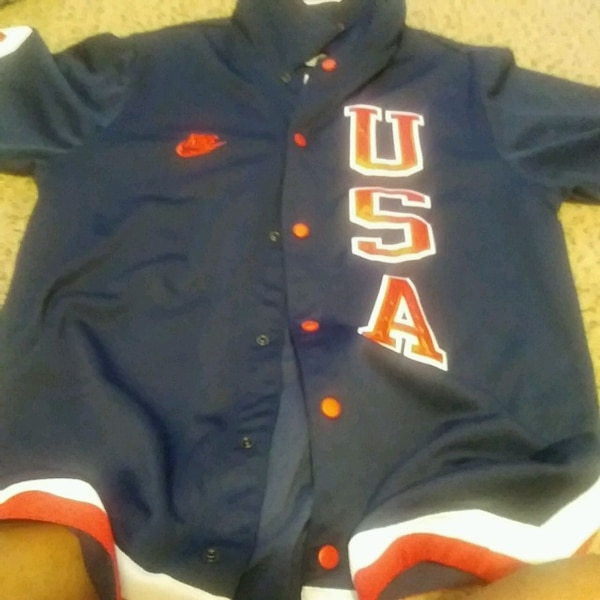 54c94333f69a8a Used Blue and Red Michael Jordan basketball warmup for sale in Aloma ...