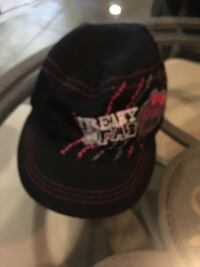 Black and red chicago bulls fitted cap 782 km