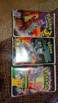 three Pokemon movie disc cases Toronto, M1J 1E8